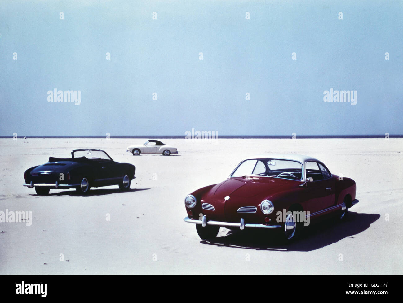 transport / transportation, cars, Volkswagen, VW 1500 Karmann-Ghia coupe and convertible, vehicle variants 14, Germany, - Stock Image