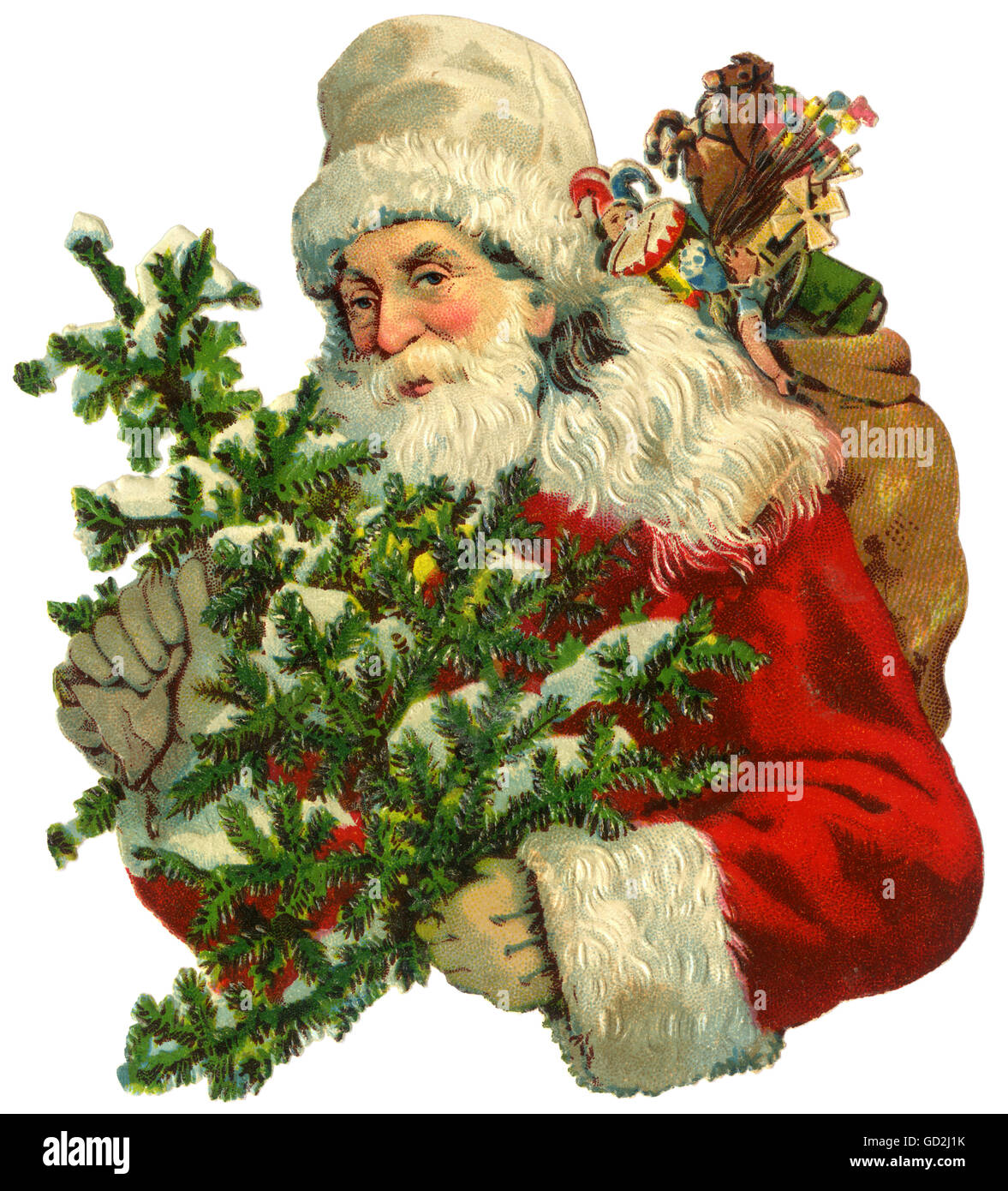 b19d0d452c Father Christmas Cut Out Stock Images   Pictures - Alamy