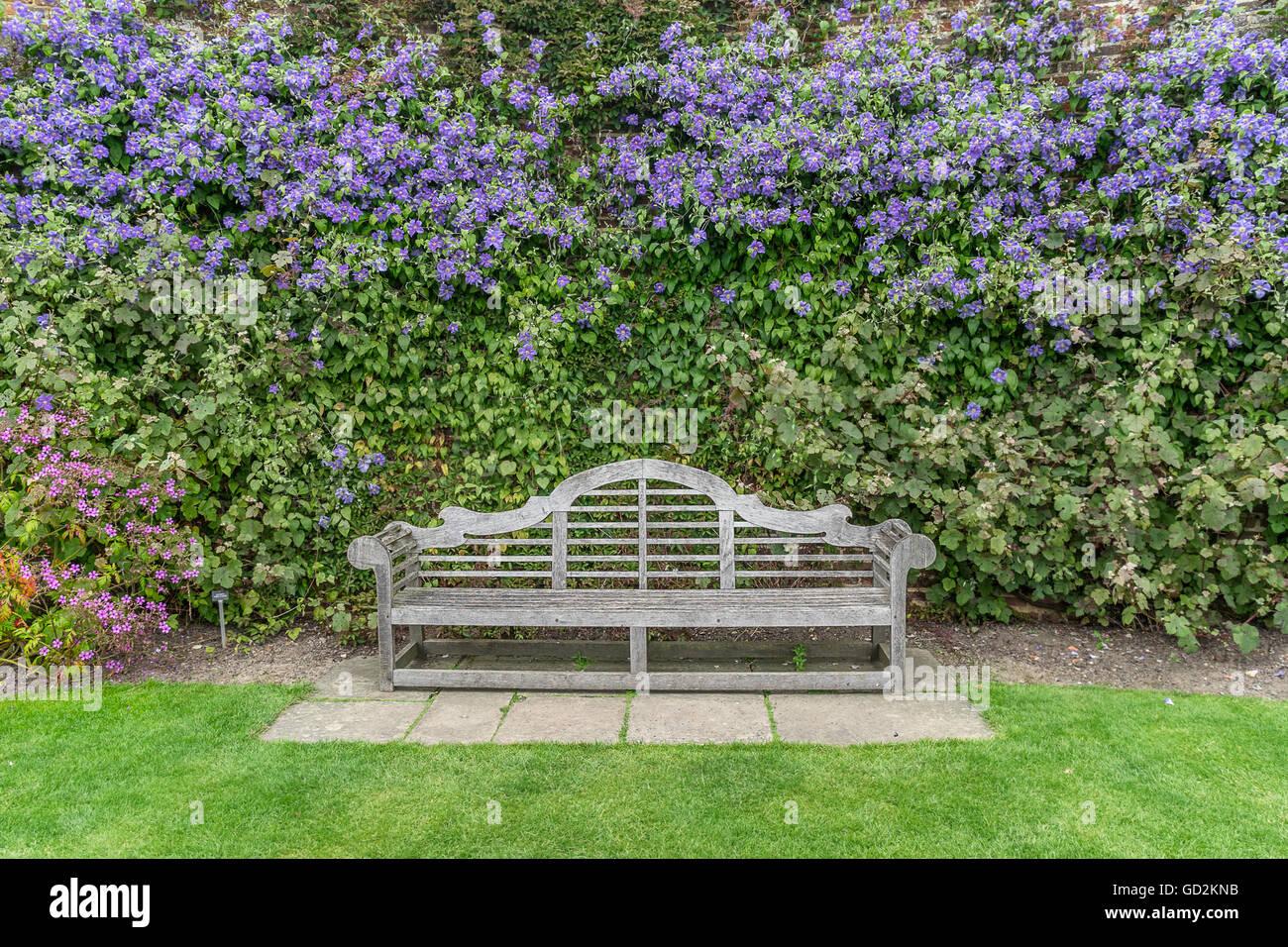 Sissinghurst Castle gardens - Stock Image