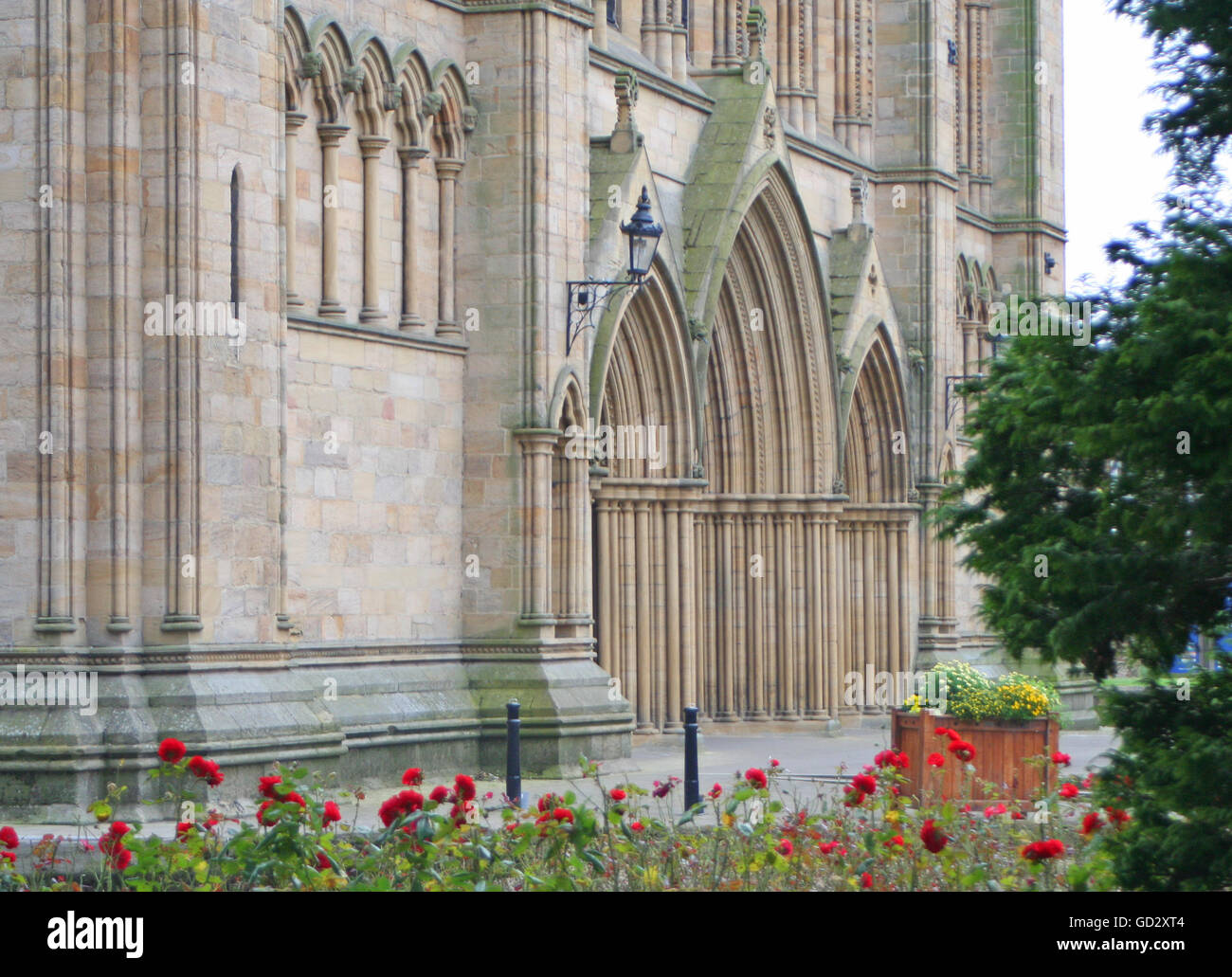 Ripon Cathedral - Stock Image