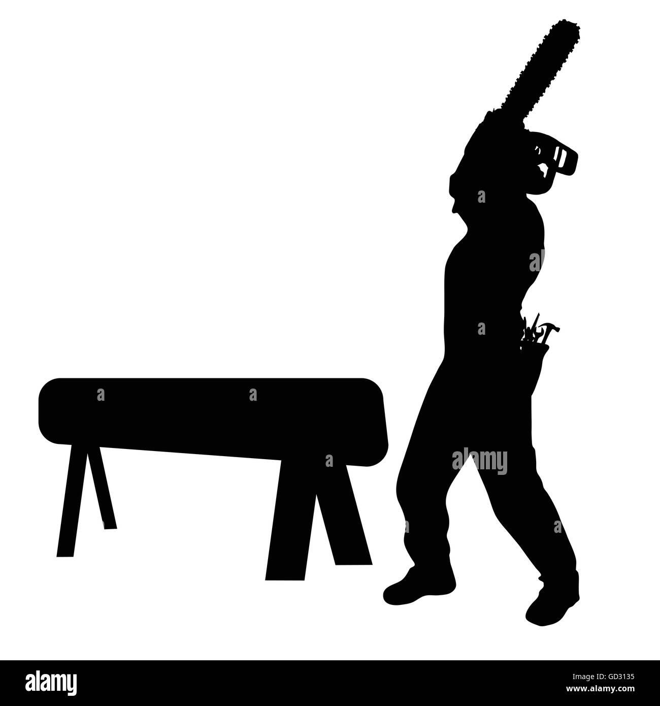 worker vector illustration - Stock Vector