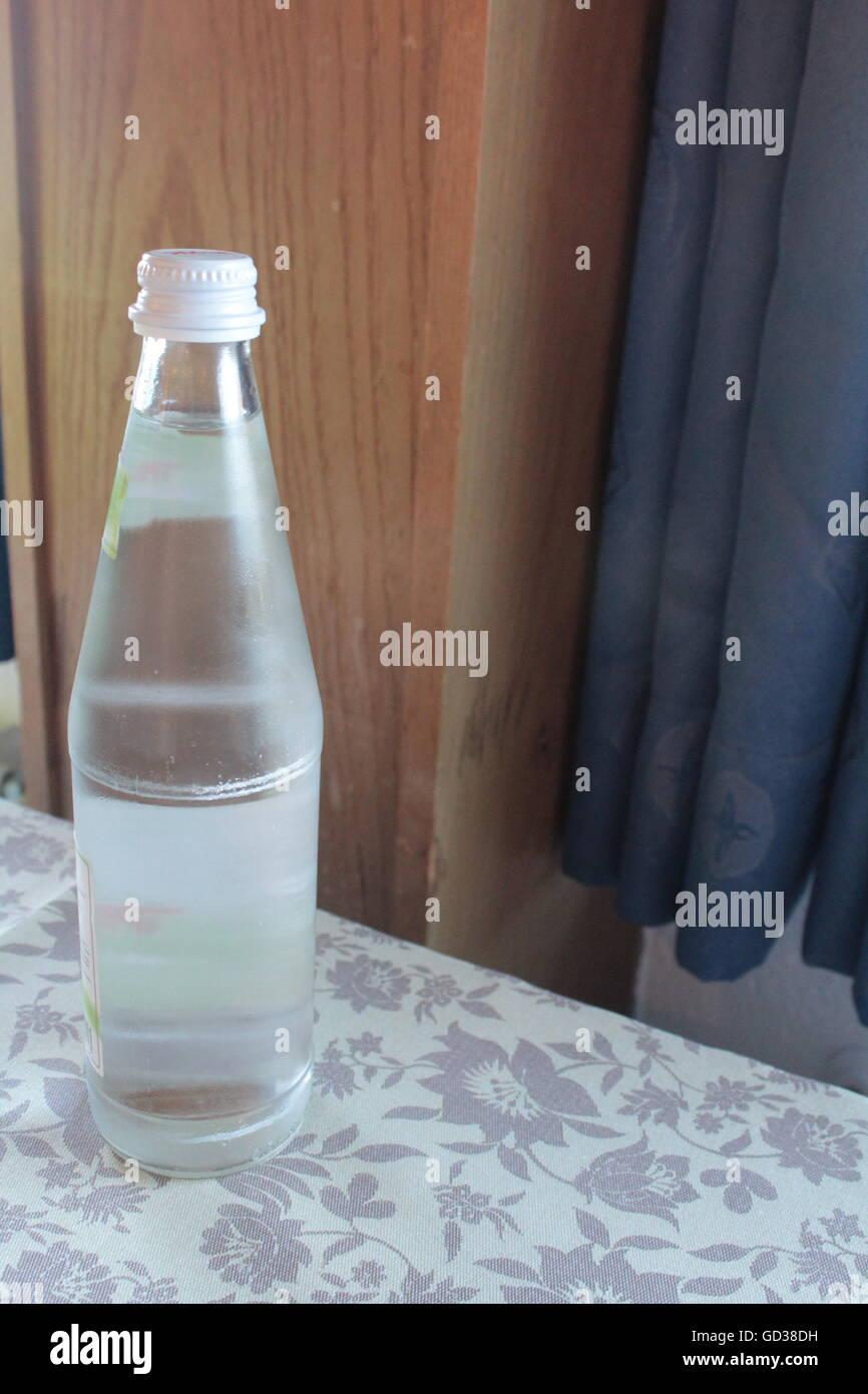 water bottle - Stock Image