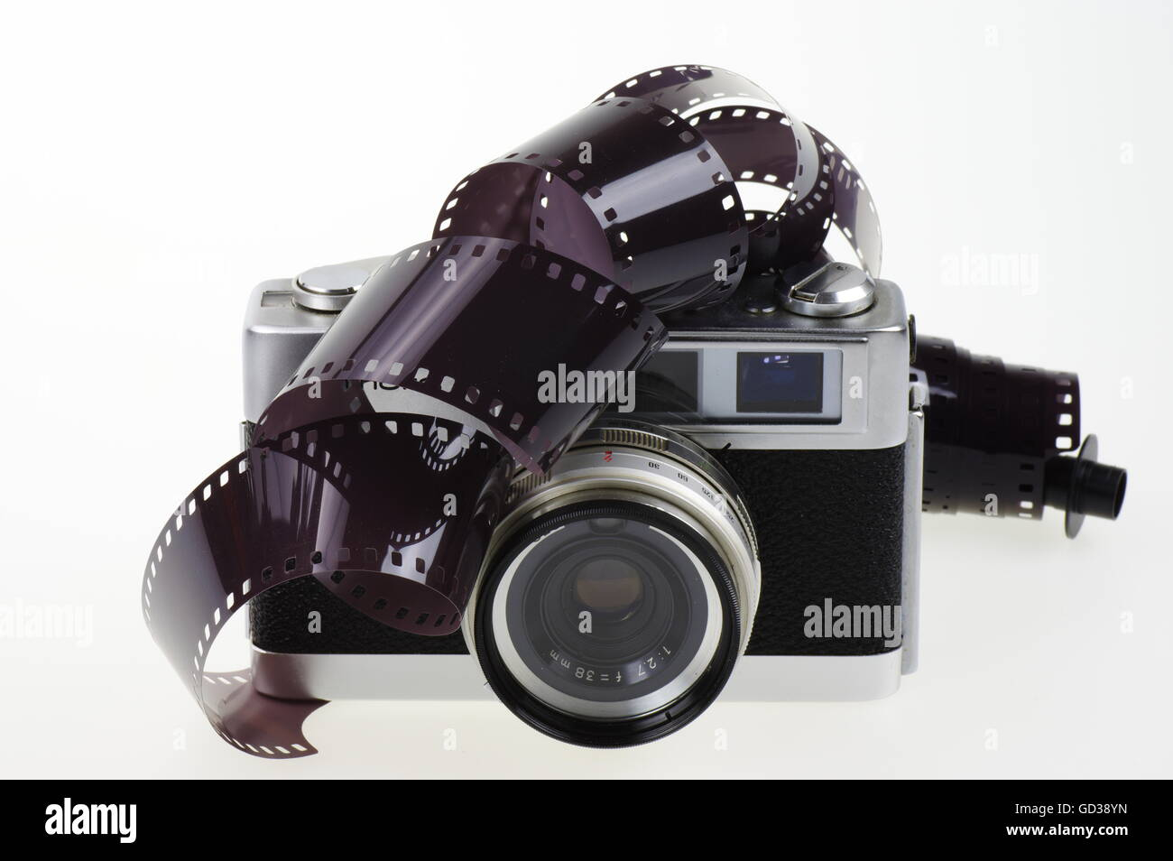 Analog Film Camera Stock Photos & Analog Film Camera Stock