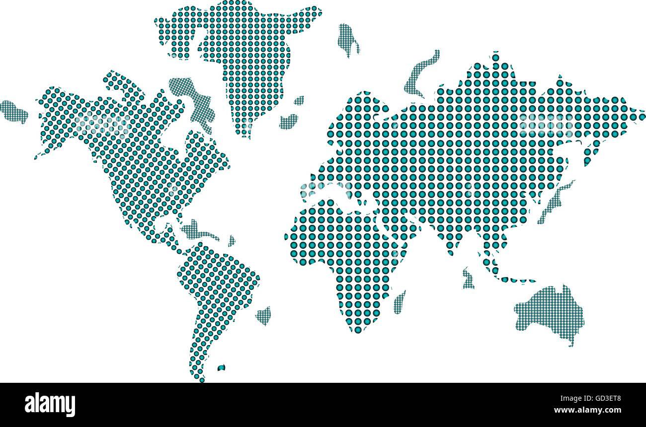 geometric texture world map icon Stock Vector Art & Illustration, Vector Image: 111330248 - Alamy