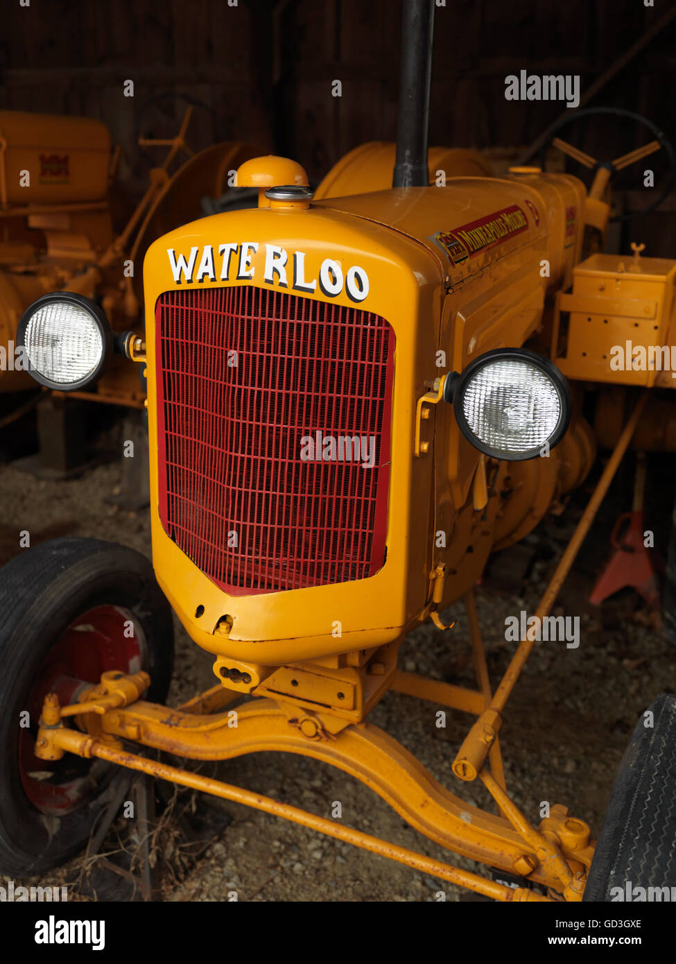 Minneapolis-Moline MM Waterloo vintage tractor - Stock Image