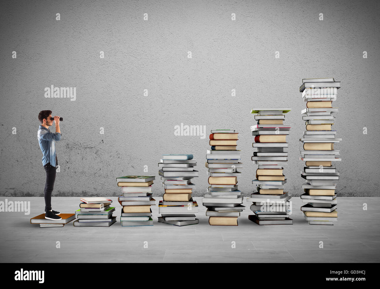 Course of study - Stock Image