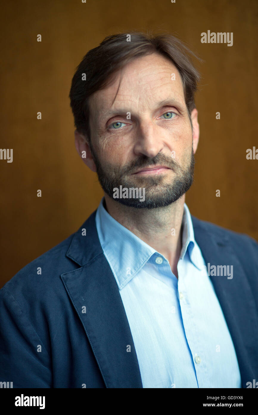 Berlin, Germany. 12th July, 2016. Journalist Christian H. Schulz, photographed during the presentation of the documentary - Stock Image