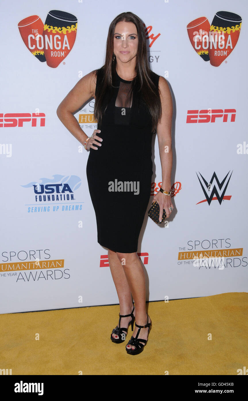 Los Angeles, California, USA. 12th July, 2016. Stephanie McMahon. Arrivals for the Second Annual Sports Humanitarian - Stock Image