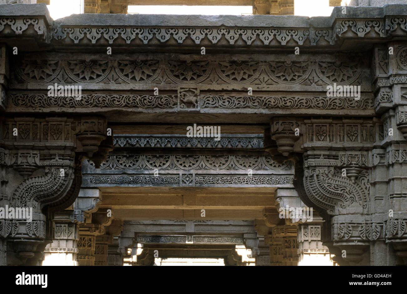 Adalaj Vav - Stock Image