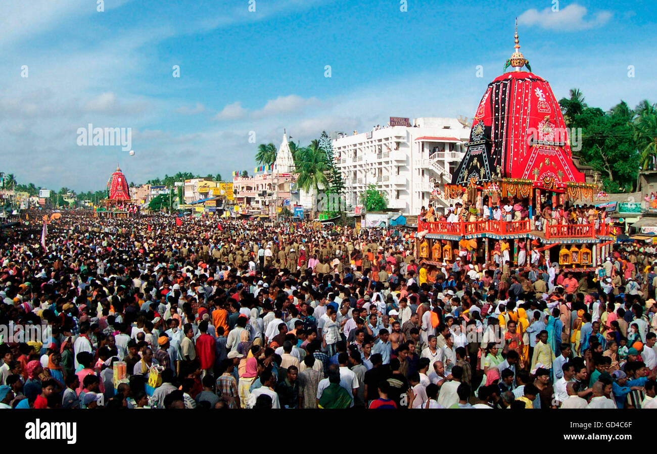 Rath Yatra Festival Stock Photo