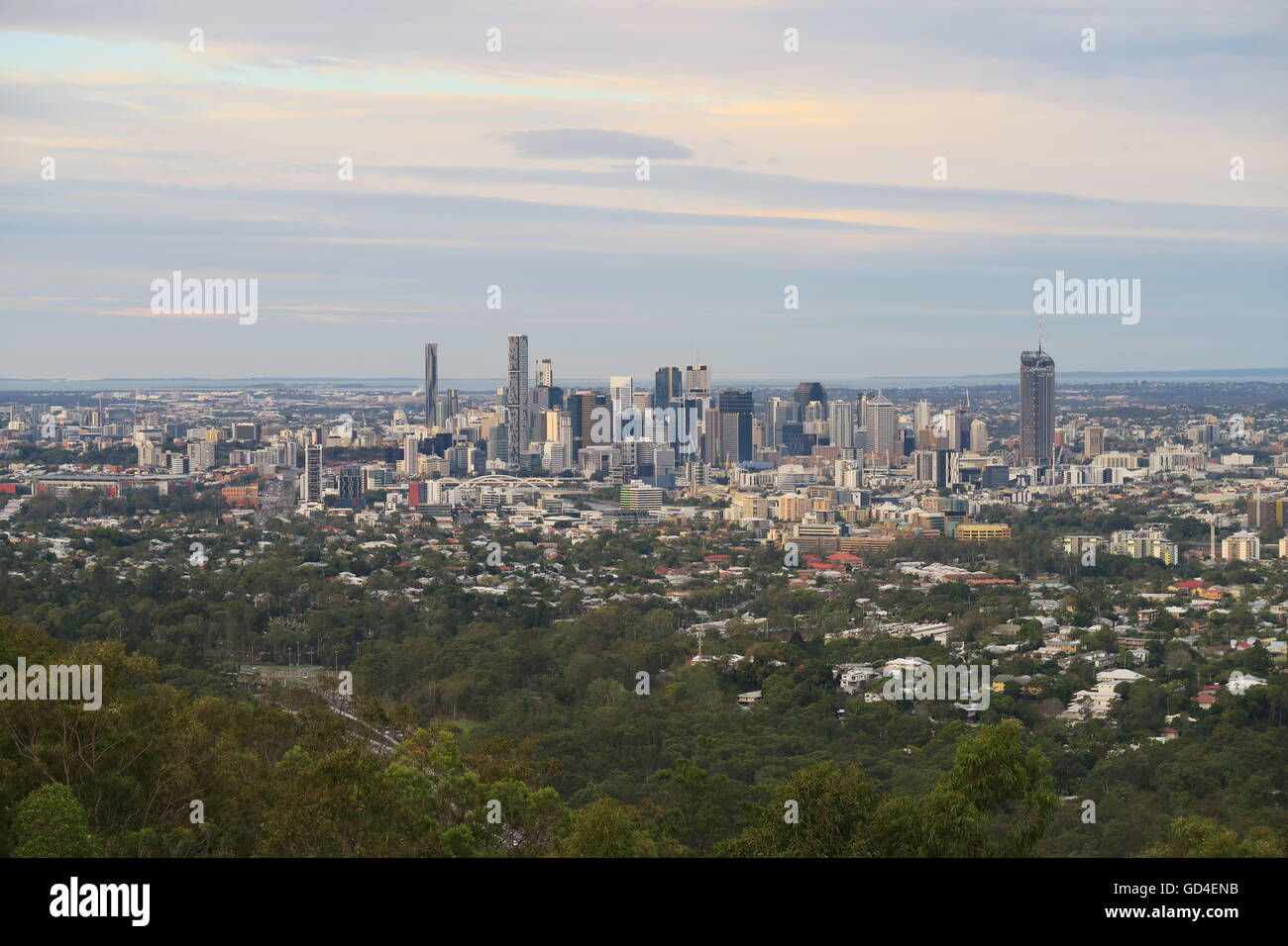 Brisbane City - Stock Image