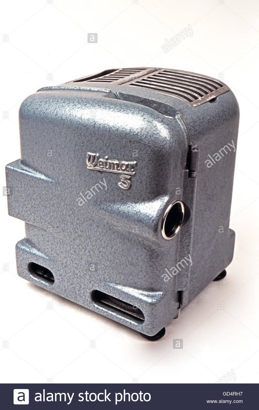 movie, narrow-gauge cine projector 'Weimar 3', made by: VEB Feingeraetewerk Weimar, East-Germany, 1957, - Stock Image