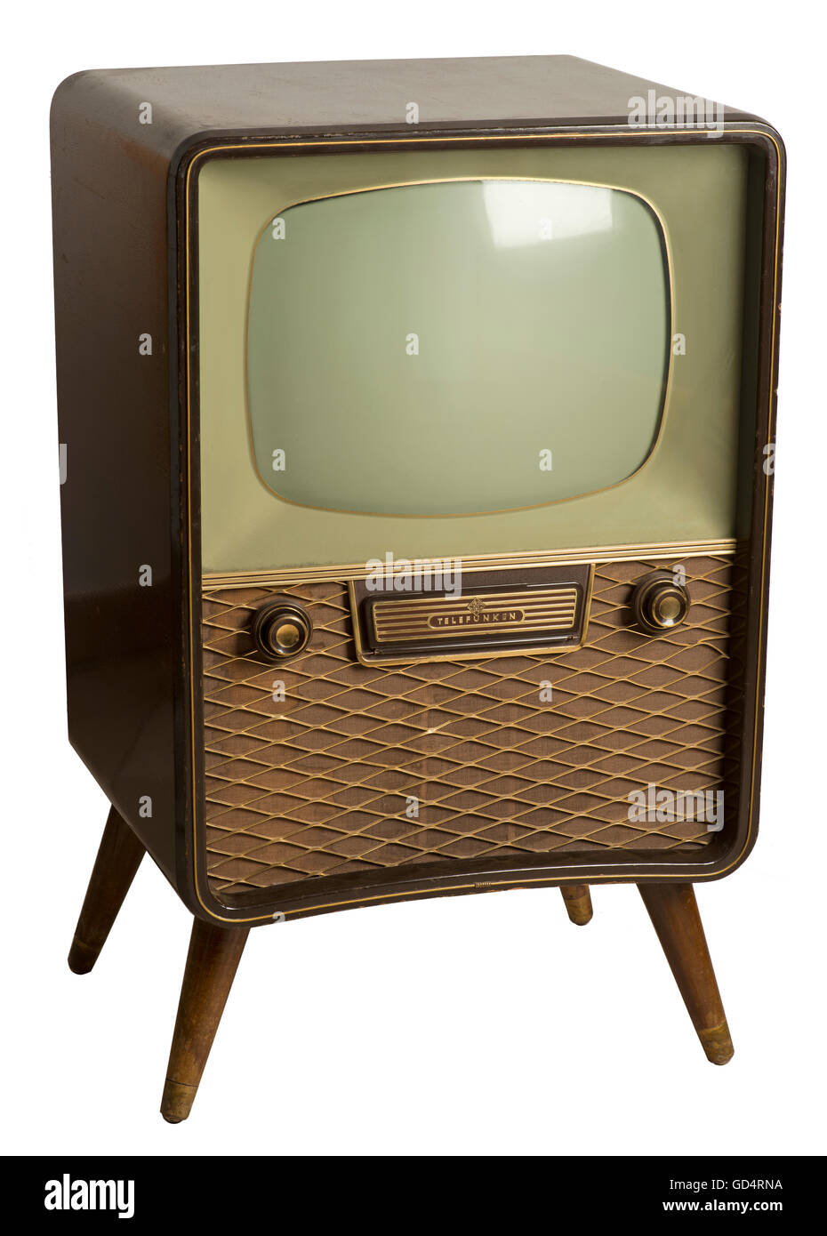 broadcast, television, Telefunken FE 12 / 43 St, Germany, 1956, Additional-Rights-Clearences-NA - Stock Image