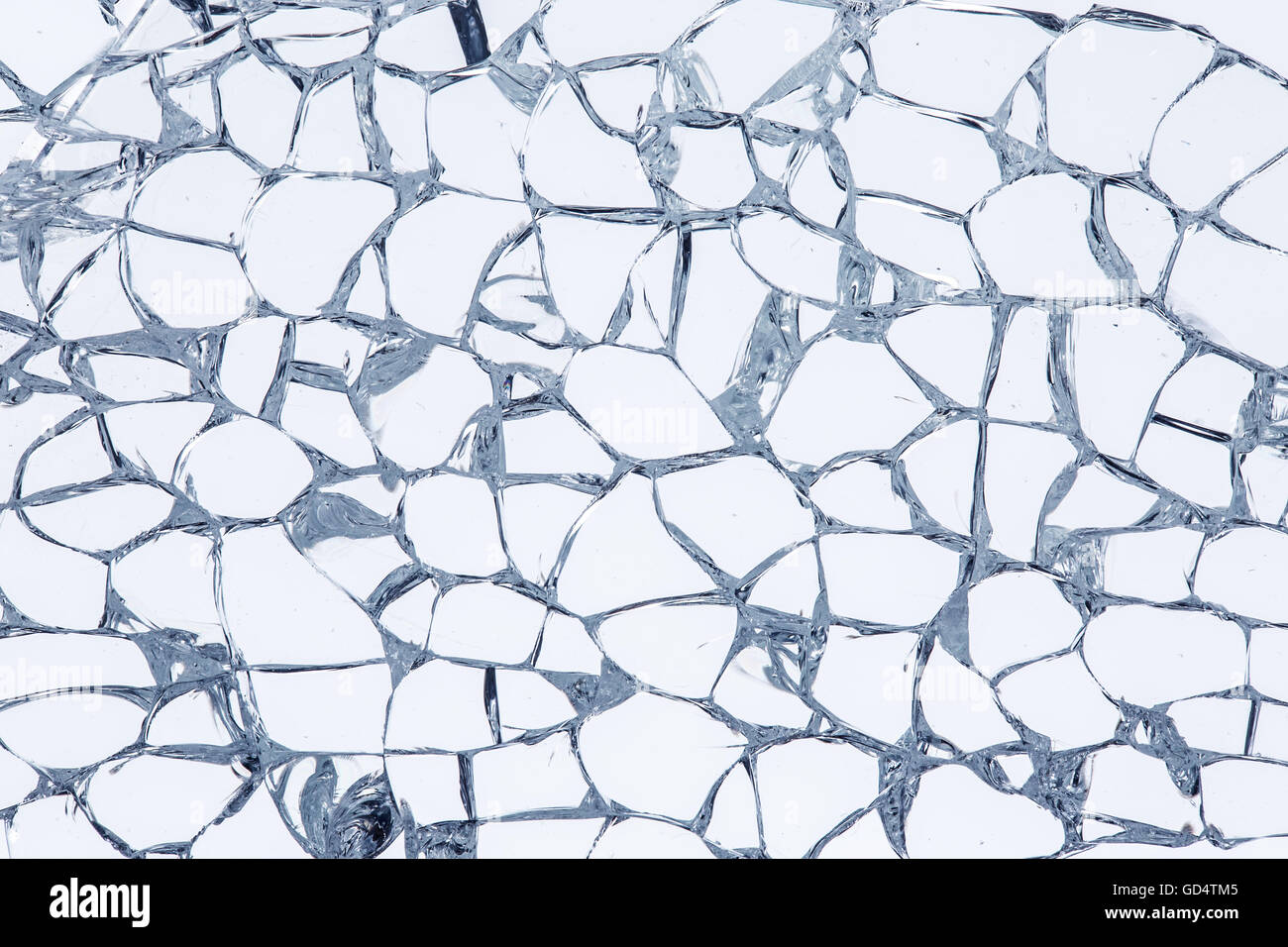 Texture of broken safety glass. Macro Stock Photo: 111359925 - Alamy