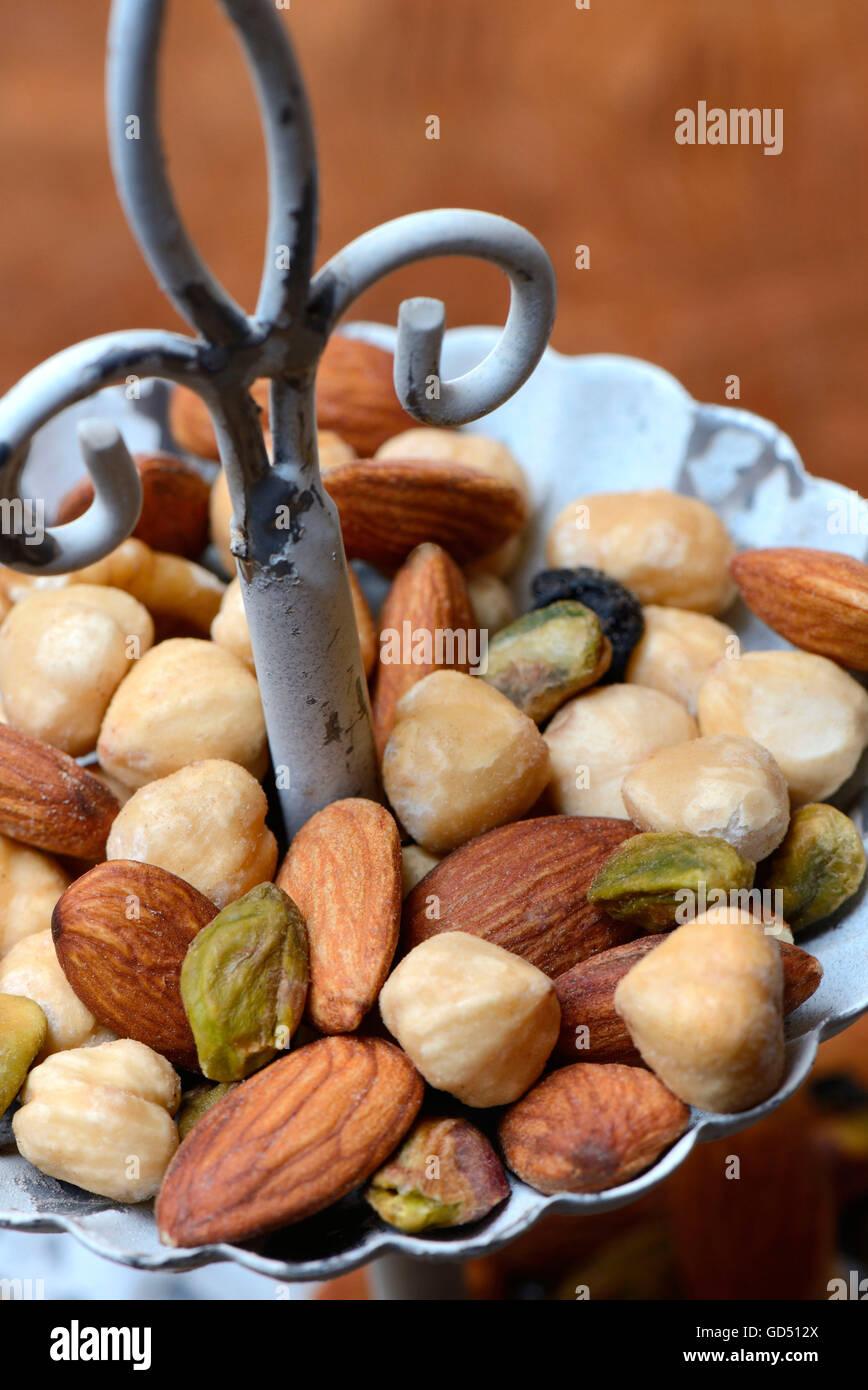 Nut mix - Stock Image