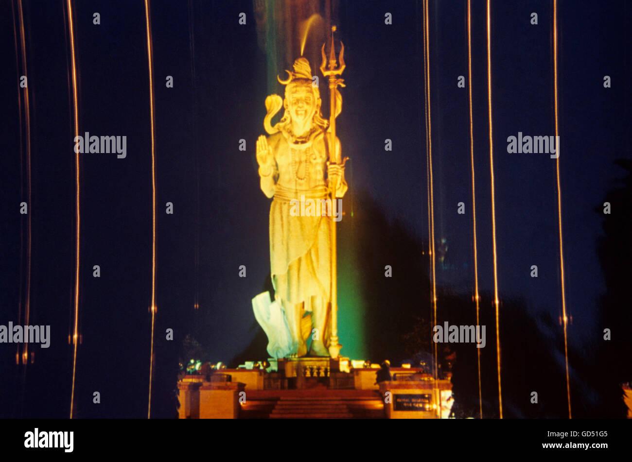 Idol of lord Shiva - Stock Image