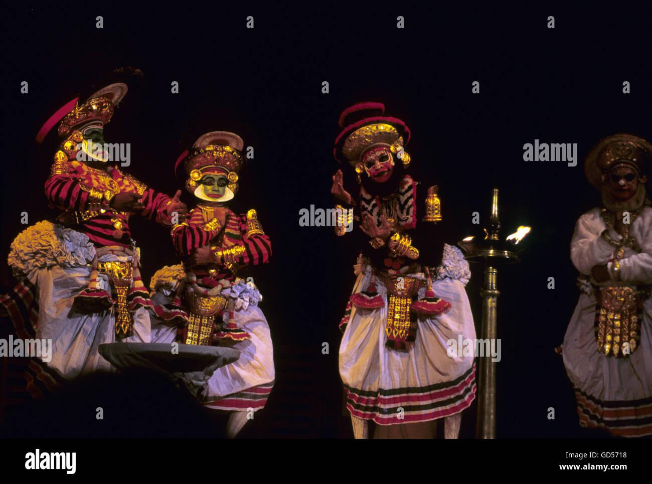 Folk artistes - Stock Image