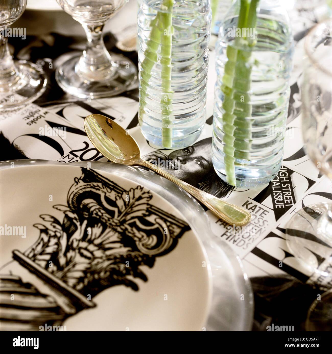 Girl's Luncheon - Stock Image