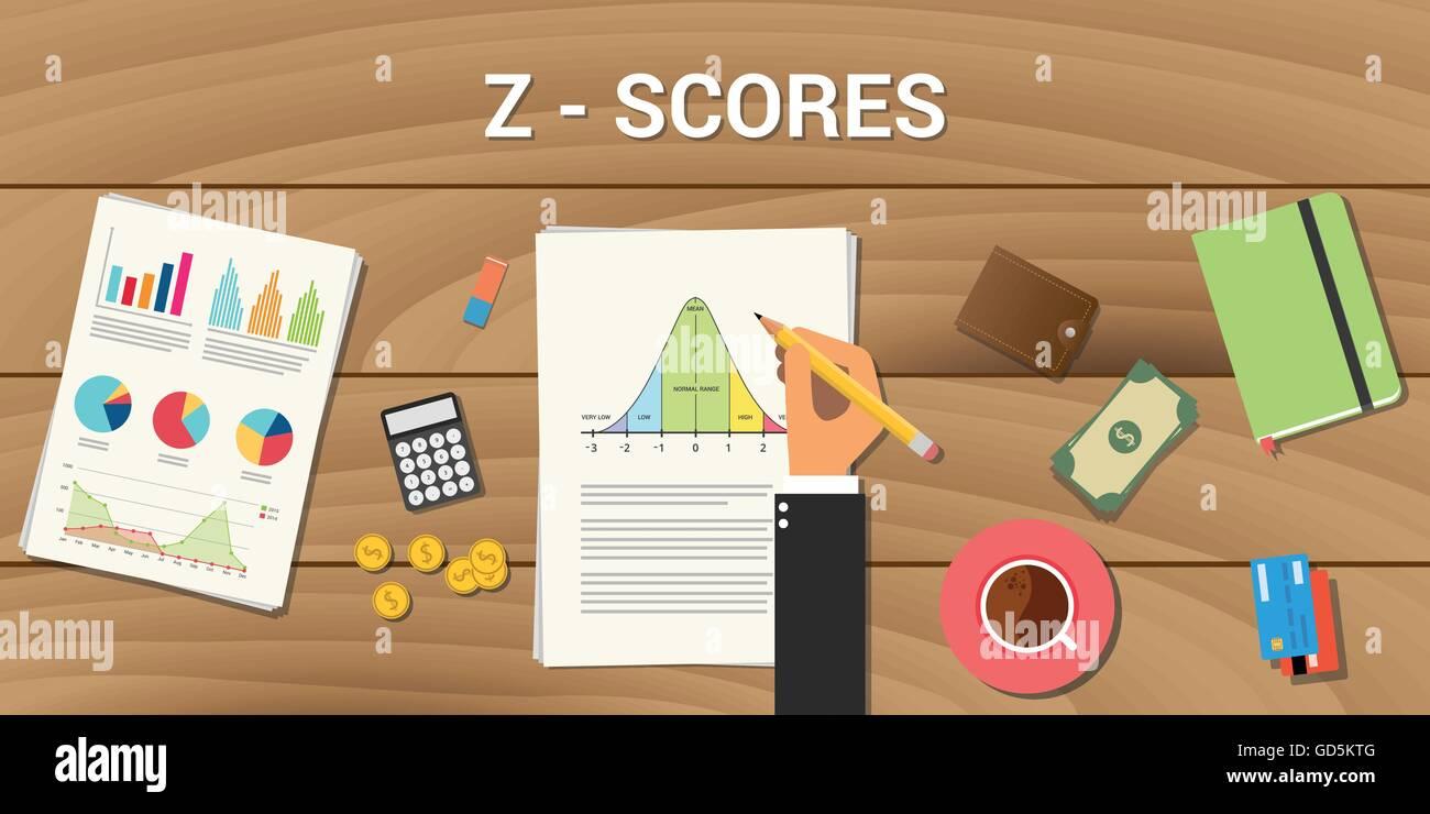 z-score interactive graph normal distribution curve