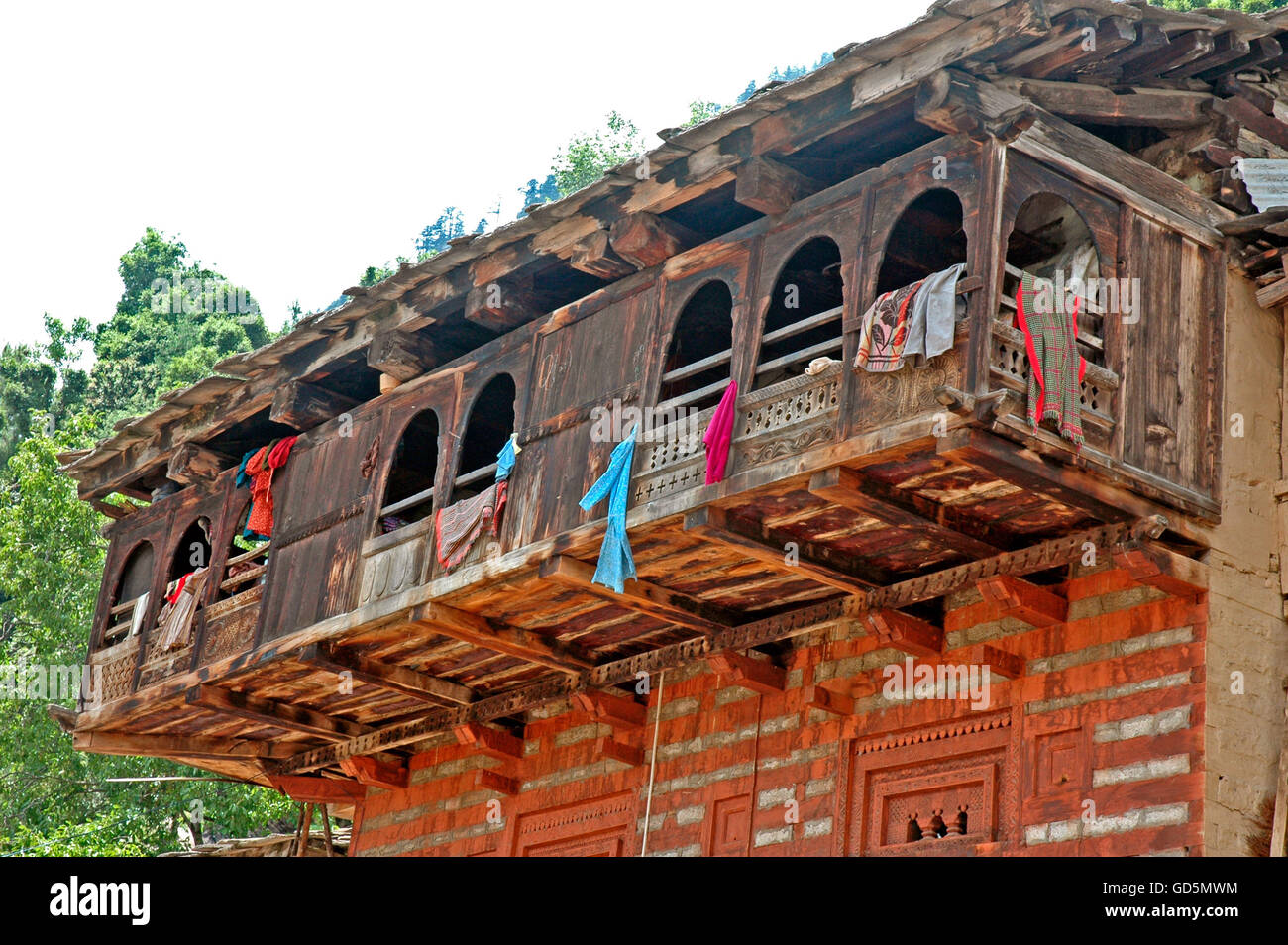 Old Manali - Stock Image