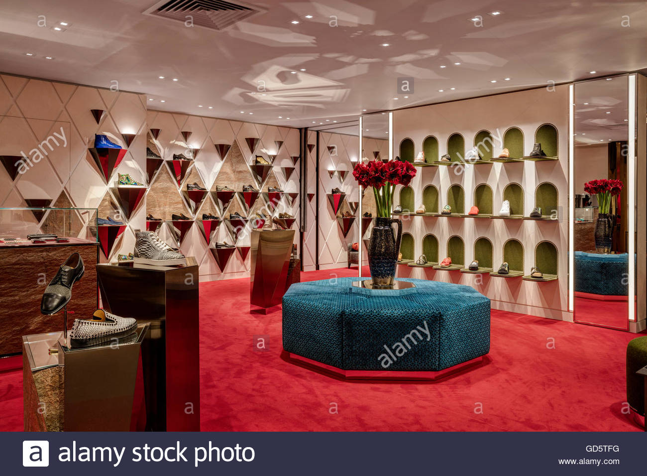 c6db1ad183f Store view. Christian Louboutin - Harrods, London, United Kingdom ...