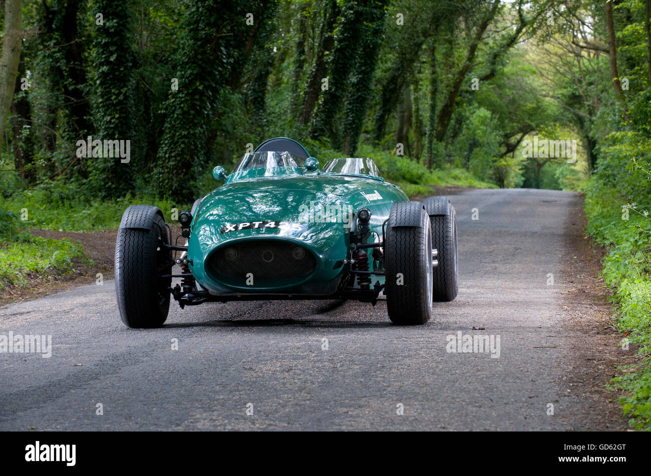 Vanwall Sports Car Unique 2 Seater Recreated Classic Fitted With A
