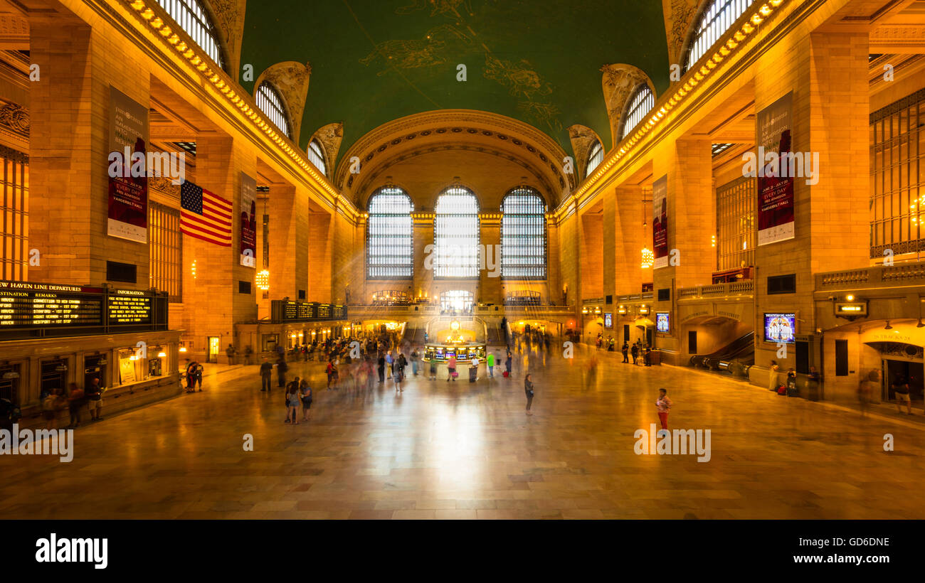 Grand Central Terminal in New York City. - Stock Image