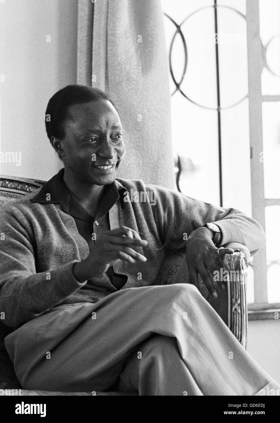 King Freddie of Buganda - Stock Image