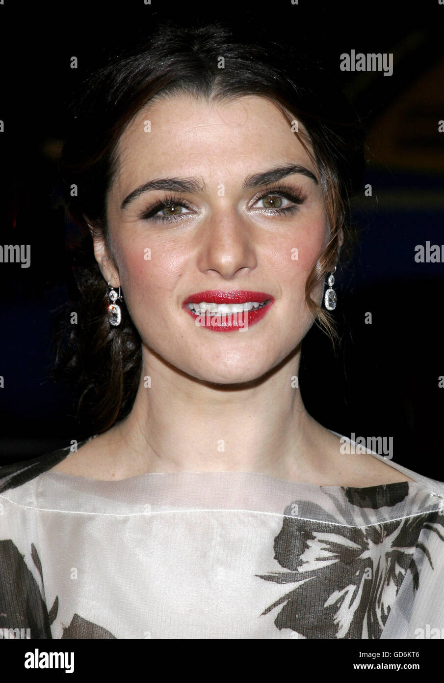 HOLLYWOOD, CALIFORNIA. Saturday November 11, 2006. Rachel Weisz attends the AFI Centerpiece Gala Screening of 'The - Stock Image