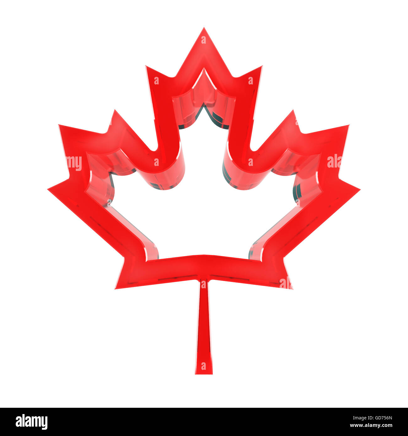 3d Maple Leaf Canadian Symbol Stock Photos 3d Maple Leaf Canadian