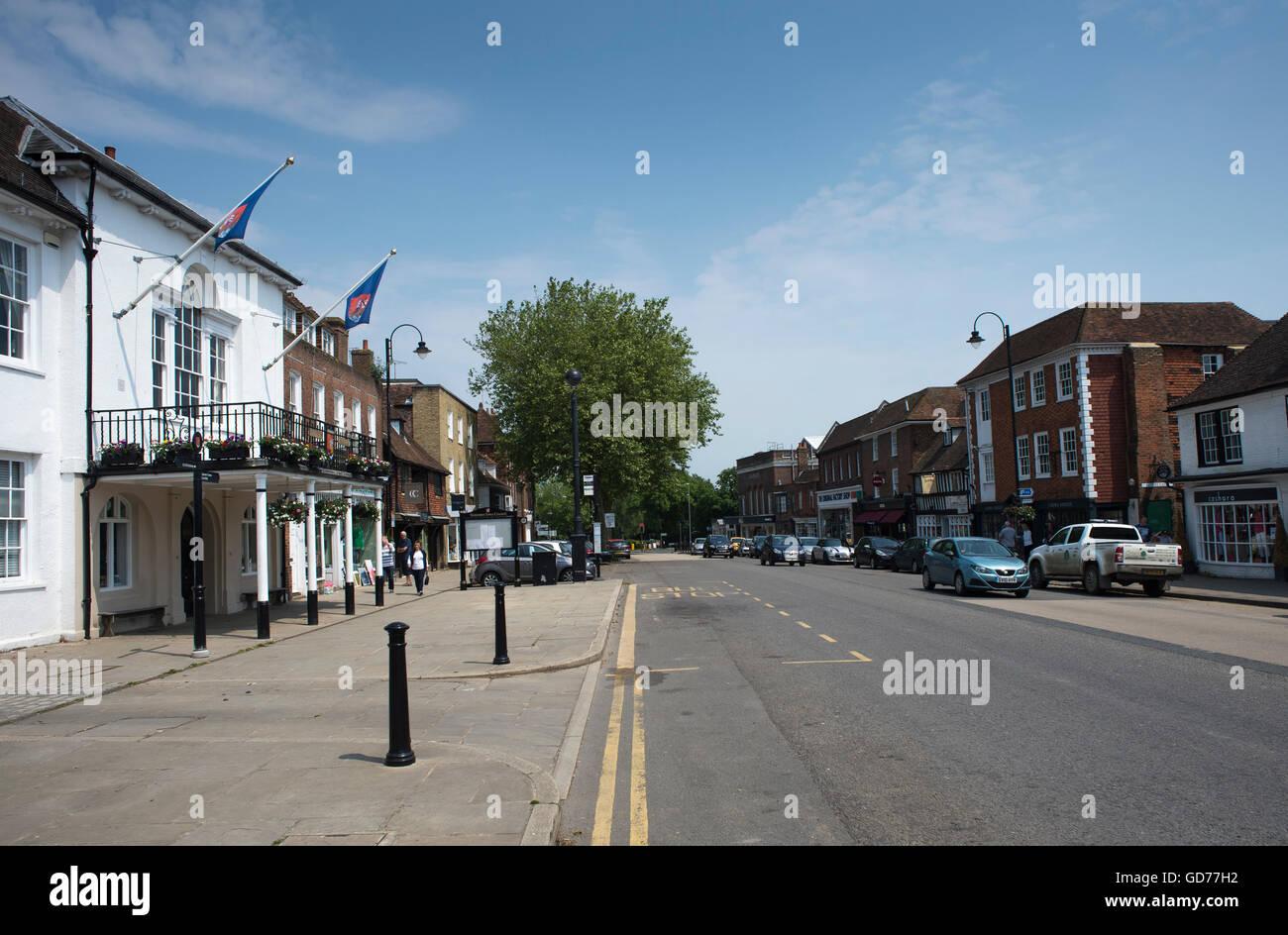 Tenterden, Kent. - Stock Image