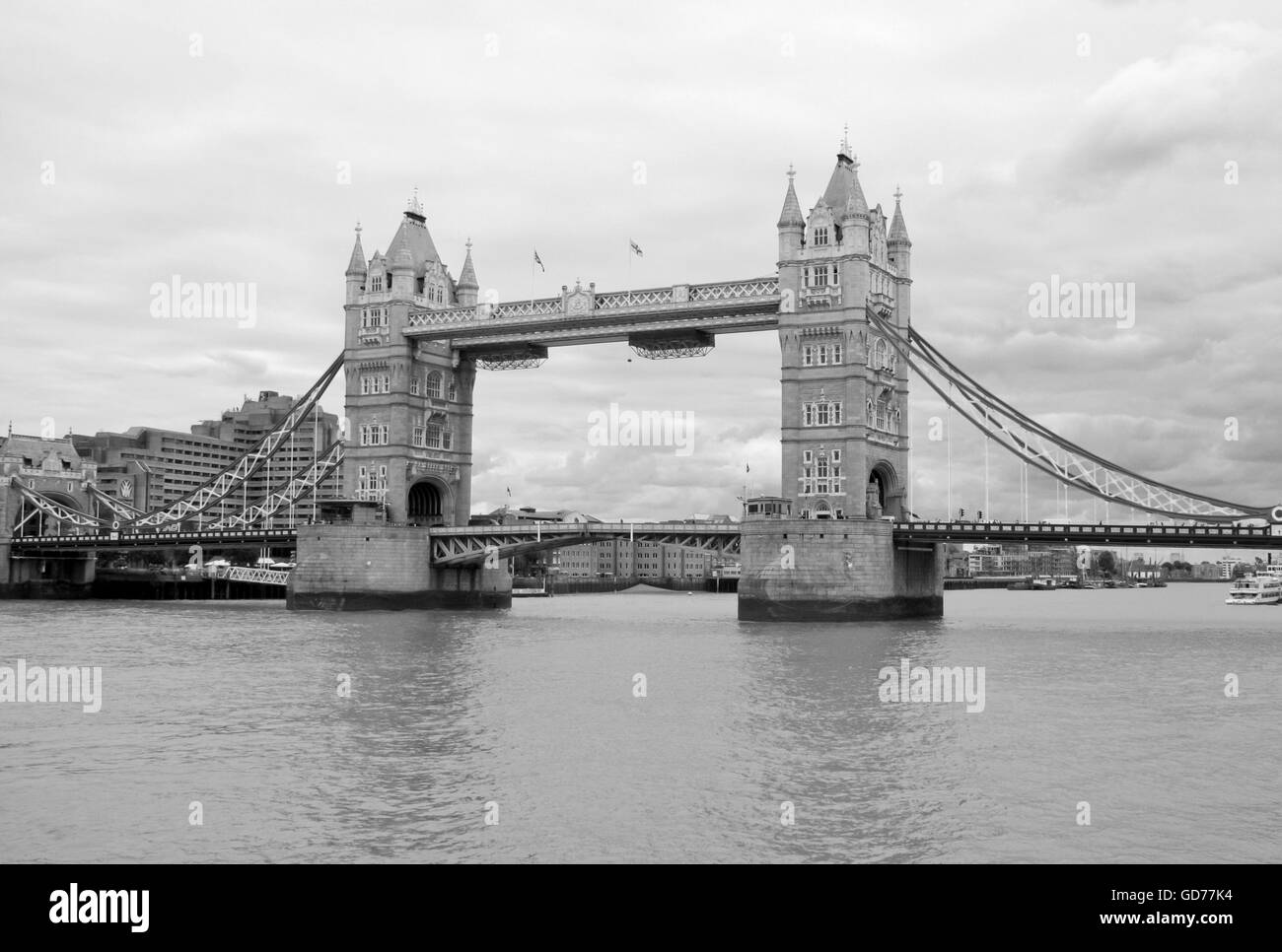 The London Bridge view - Stock Image