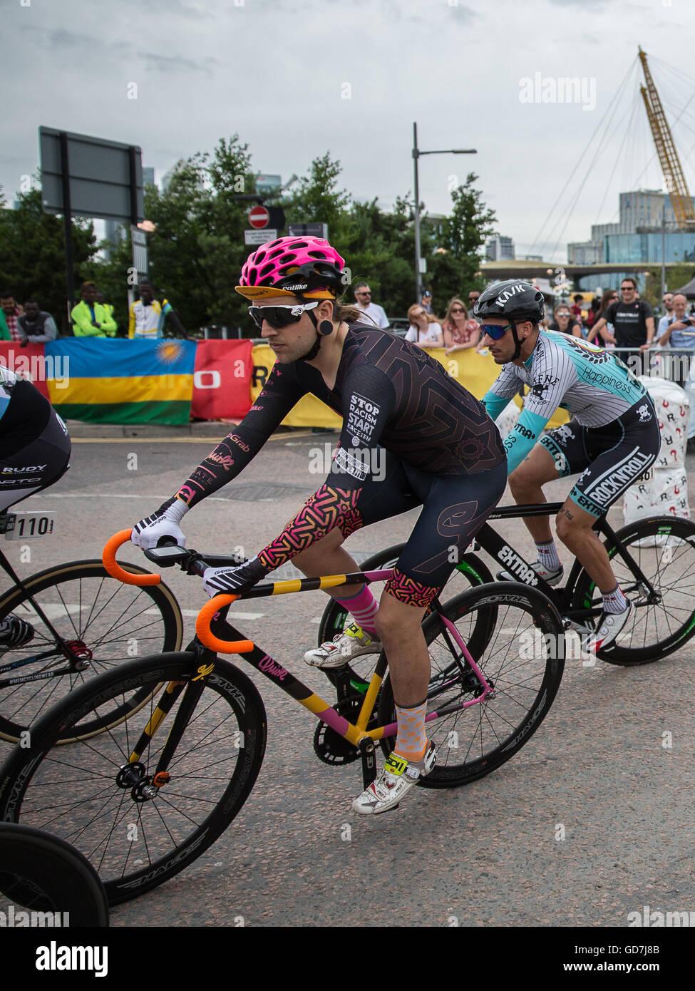 Red Hook Crit London 2016 Cycling Criterium Bike Race Fixed