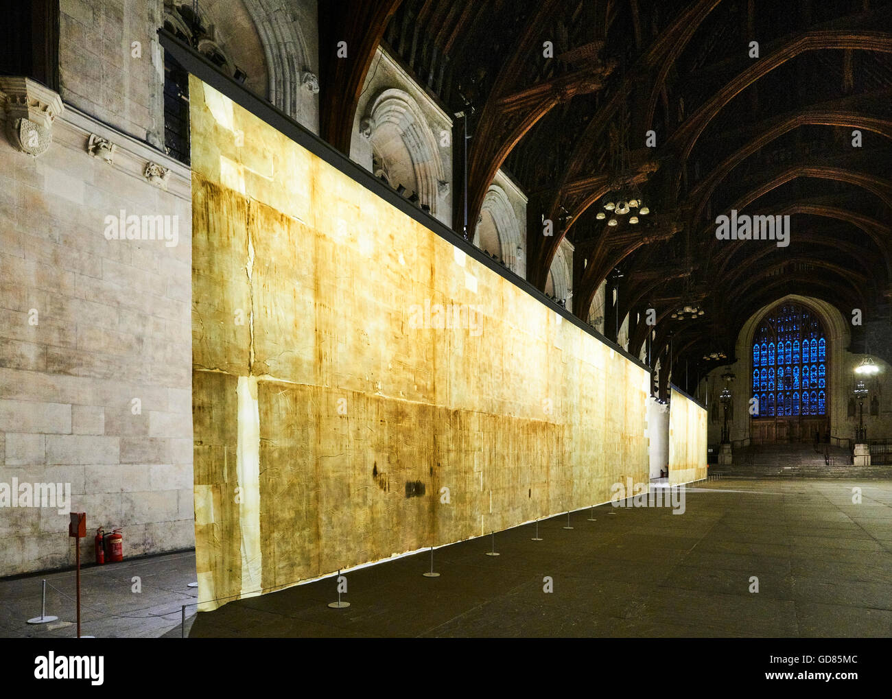 The Ethics of Dust, an art installation in Westminster Hall, in the ...