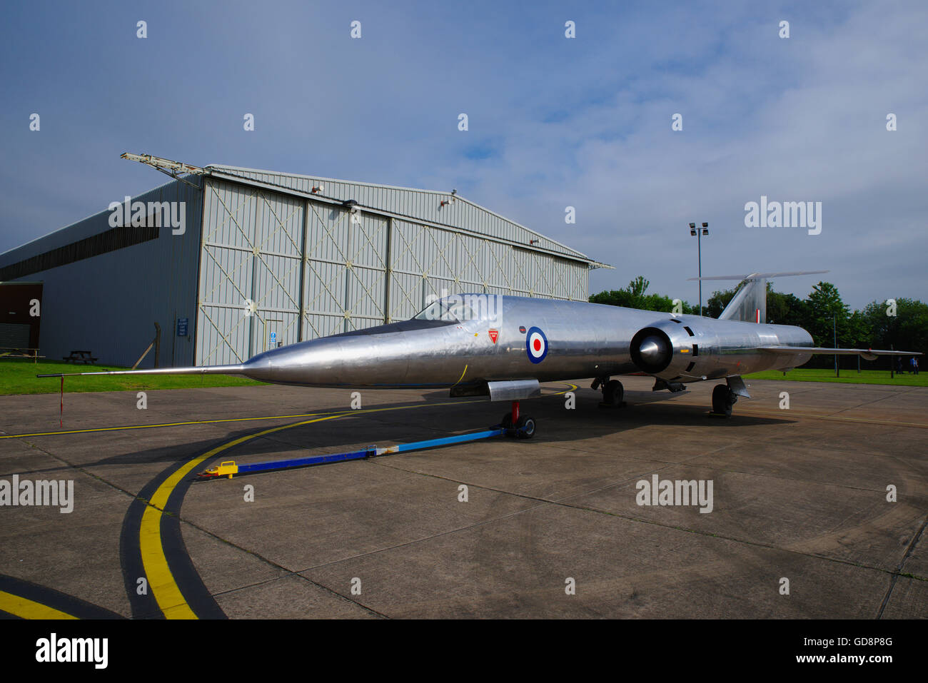Bristol 188 Supersonic research aircraft - Stock Image