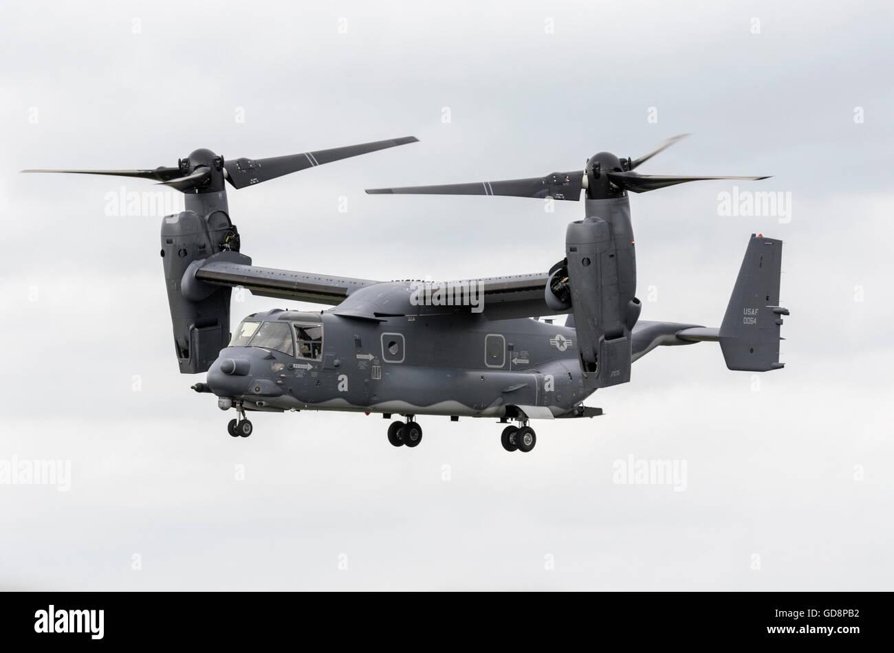 Boeing Bell MV22 Osprey tilt rotor - Stock Image