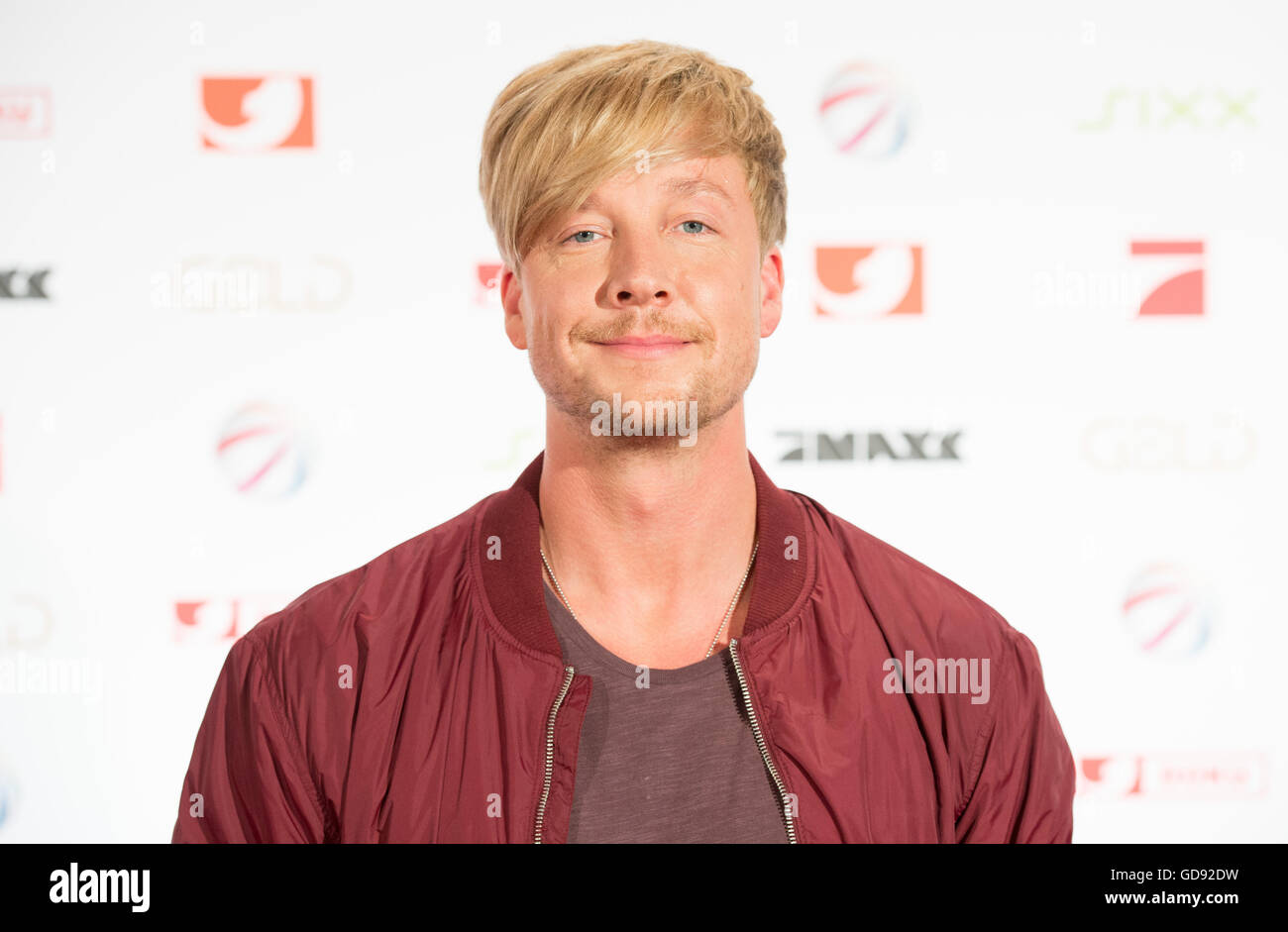 Finnish musician Samu Haber attends the annual programme presentation of media comapny ProSiebenSat.1. in Hamburg, Stock Photo