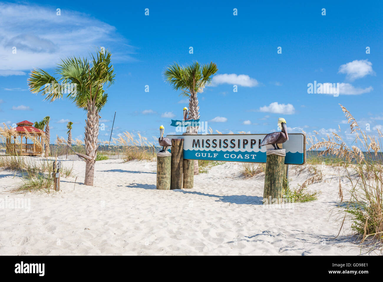 Mississippi Gulf Coast Beach High Resolution Stock Photography And