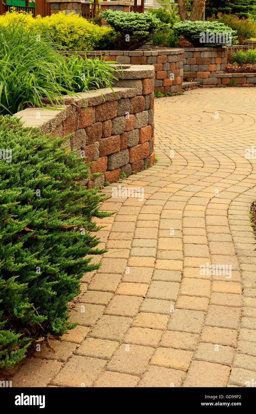 Funky Patio Retaining Wall Ideas Elaboration - The Wall Art ...