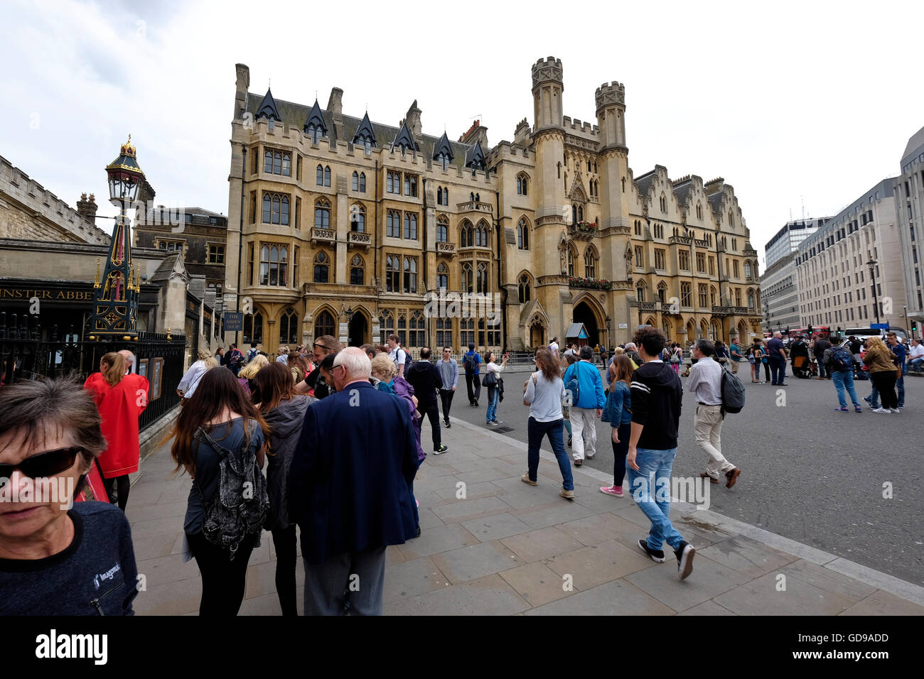Dean's Yard, Westminster an historic building in London, - Stock Image