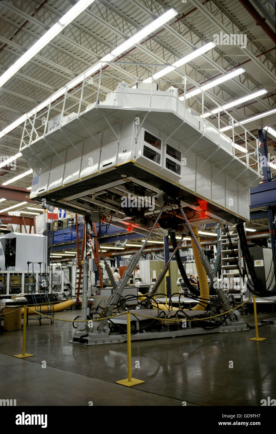 Boeing 757 full six degrees of motion full flight simulator