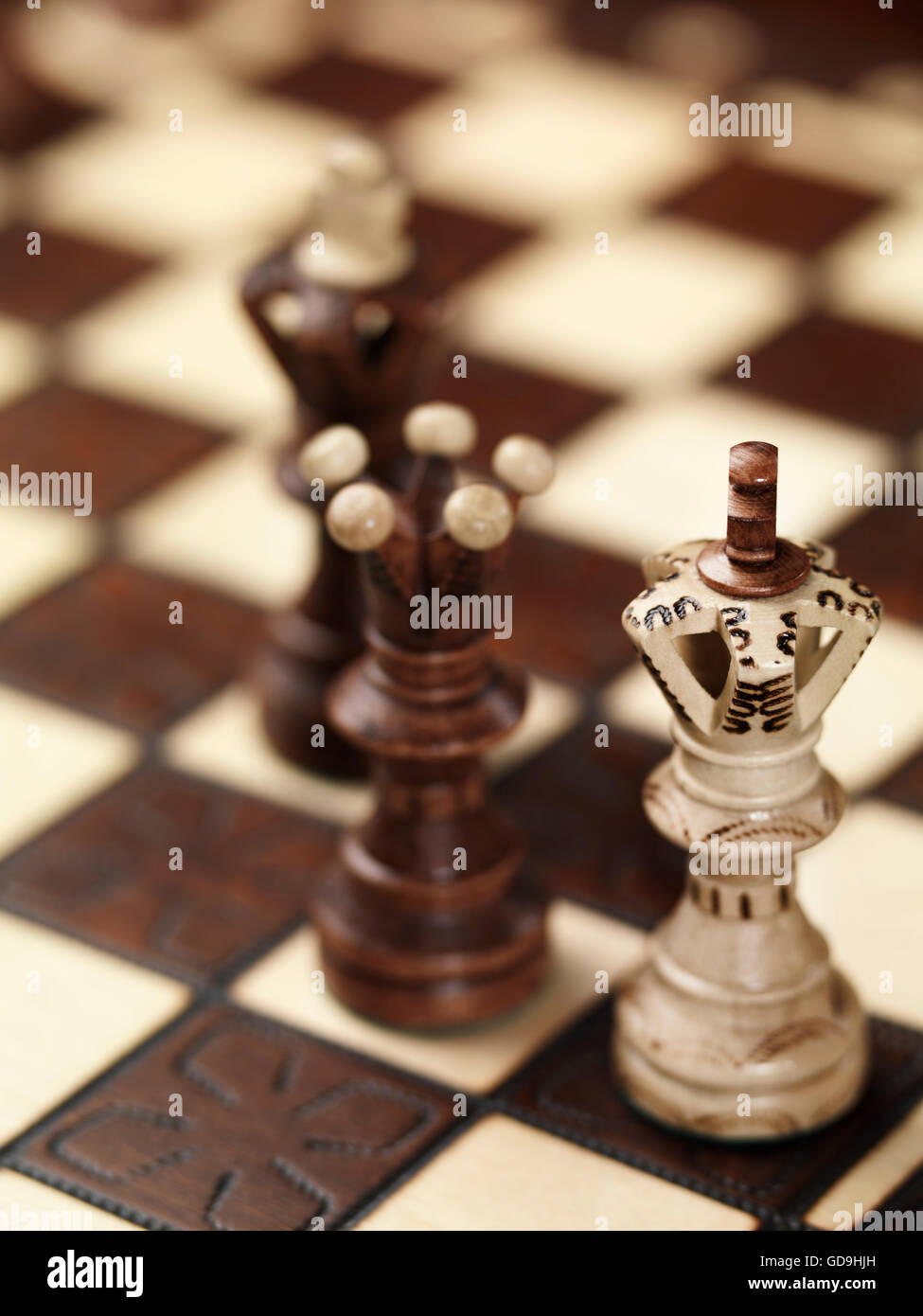 Lose Situation Stock Photos Images Chess Checkmate Diagram Puzzle From The On A Chessboard Image