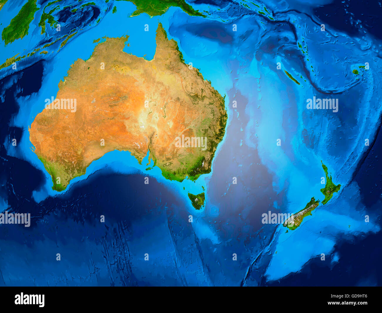 Earth globe showing oceania australia new zealand 3d illustration earth globe showing oceania australia new zealand 3d illustration gumiabroncs Images