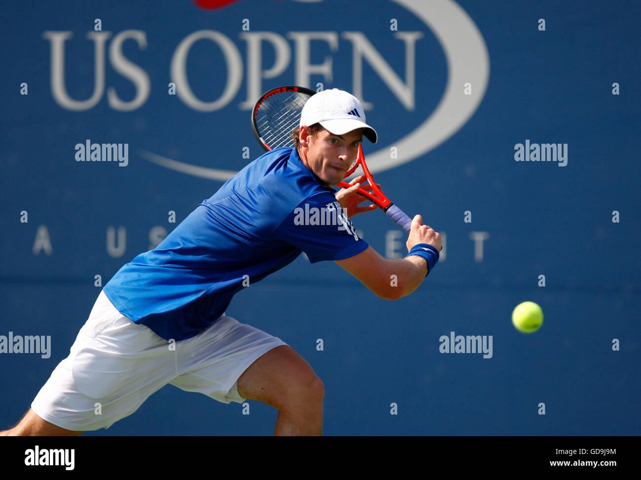Andy Murray, British tennis player, US Open 2010, ITF Grand Slam Tennis Tournament, USTA Billie Jean King National - Stock Image