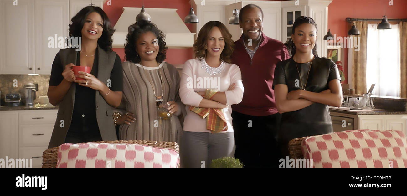 ALMOST CHRISTMAS 2016 Universal Pictures film with from left: Kimberley Elise,  Mo'Nique,  Nicole Ari Parker, - Stock Image