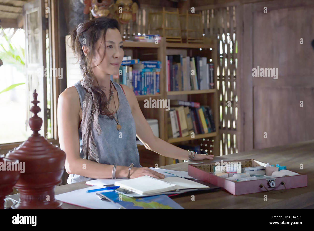 MECHANIC : RESURRECTION 2016 Chartoff-Winkler Productions film with Michelle Yeoh - Stock Image