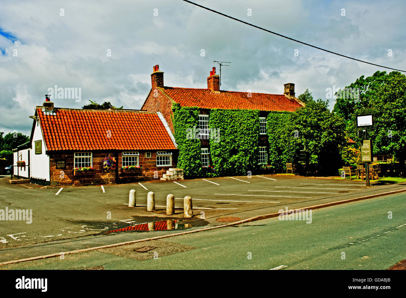 The Bay Horse, Great Broughton, North Yorkshire - Stock Image