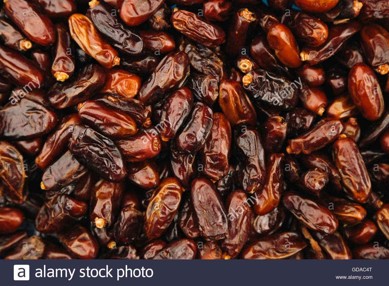 Date palm as background. Health food concept - Stock Image