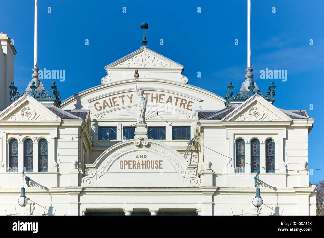 Frank Matcham Gaiety Theatre, Douglas, Isle of Man - Stock Image