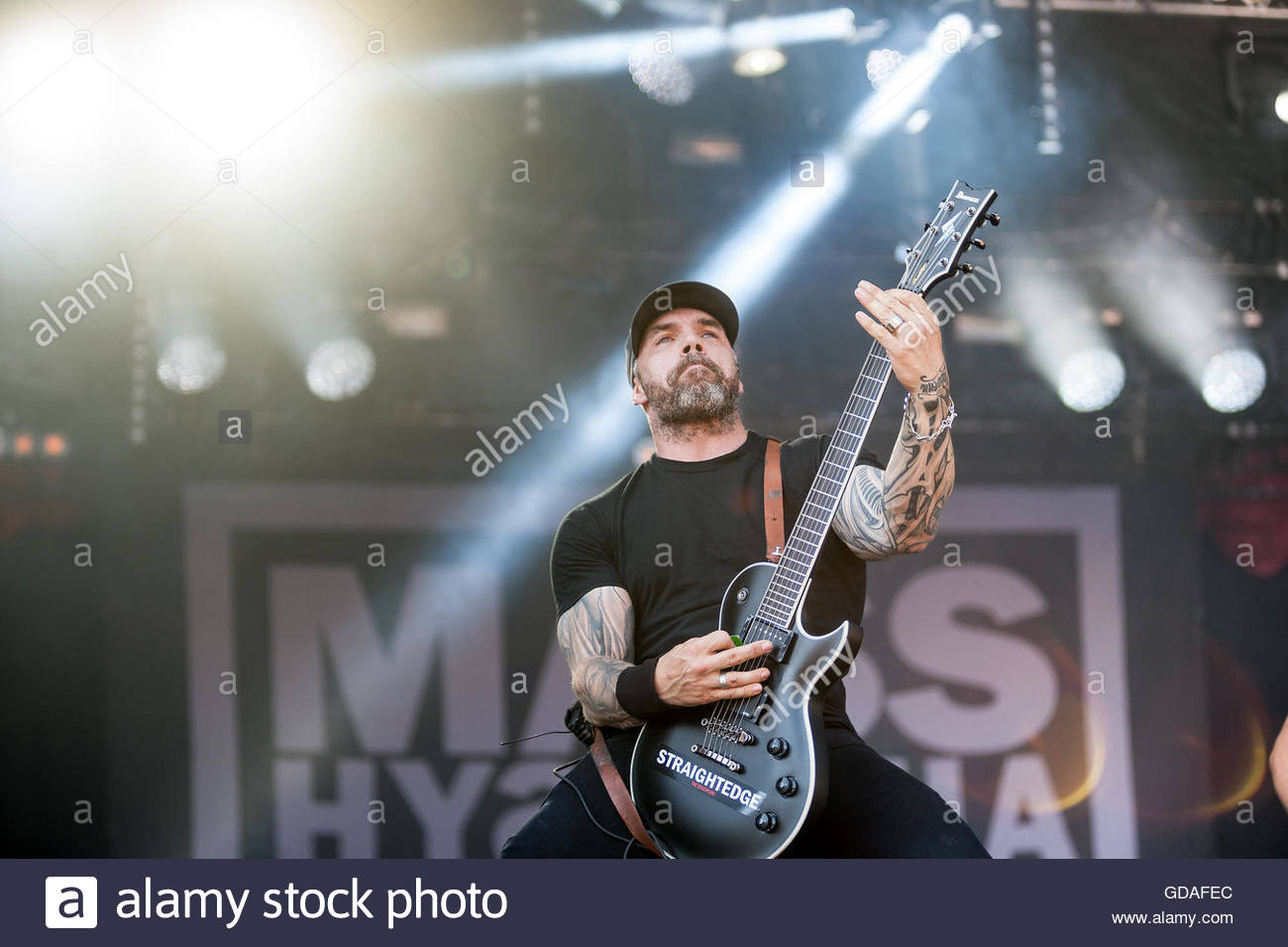 Mass Hysteria (French metal band) performing live - - Stock Image
